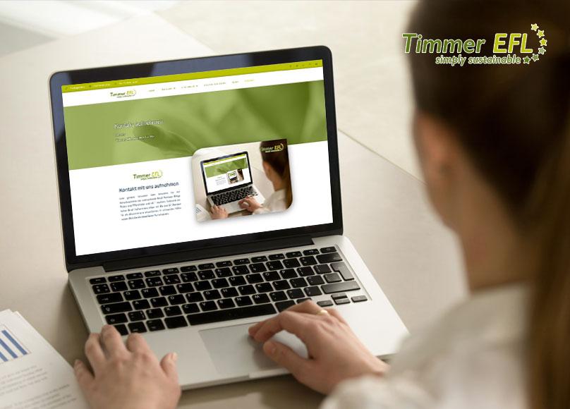 Kontakt mit Timmer EFL